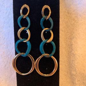 Robert Lee Morris Link Earrings-New!